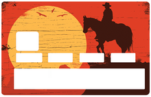 Upload image to gallery, Cowboy at sunset