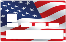 Load the image in the gallery, American flag in the wind
