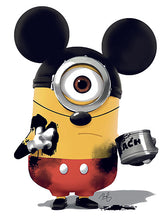 Upload image to gallery, Mickey Minion