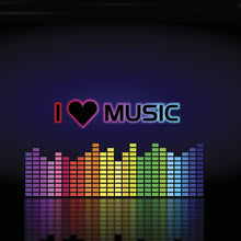 Upload image to gallery, I Love Music