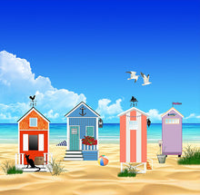 Upload image to gallery, Beach huts