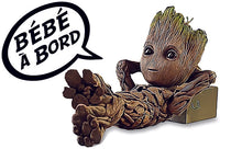 Upload image to gallery, Sticker, Baby on board! baby GROOT