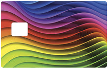 Upload image to gallery, Rainbow wave