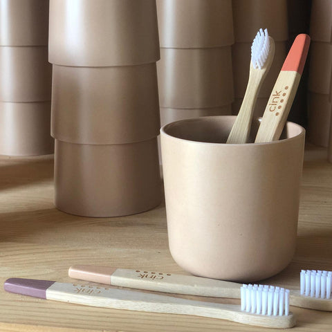 kid's bamboo toothbrushes