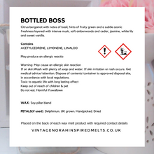 Load image into Gallery viewer, BOTTLED BOSS 5 Heart Wax Melts - PLAIN