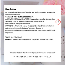 Load image into Gallery viewer, Roulette 5 Heart Wax Melts - PLAIN