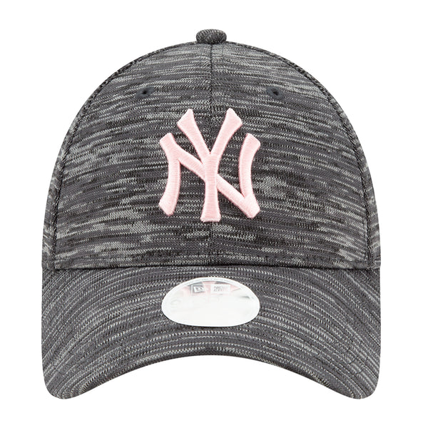 Women's New Era Yankees Grey Tech 9FORTY Adjustable Hat