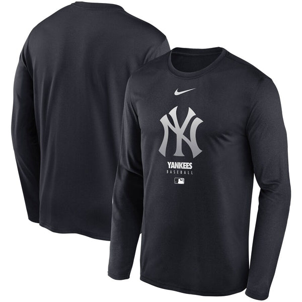 Men's Nike Yankees Navy Authentic Collection Legend Performance Long Sleeve T-Shirt