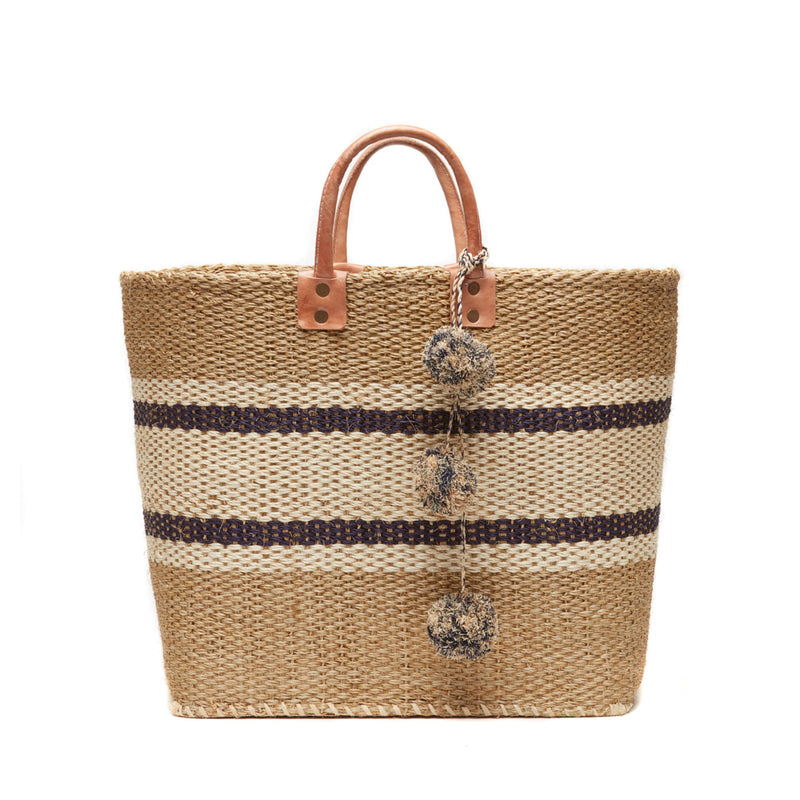 Mar Y Sol Cyprus Striped Tote