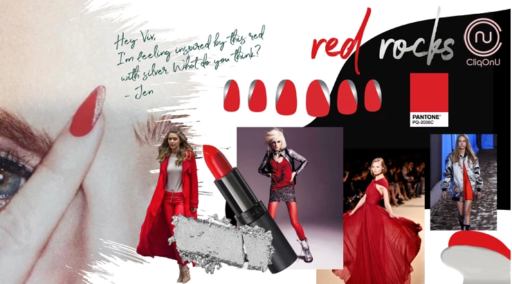 Red Rocks Nail Art Inspiration