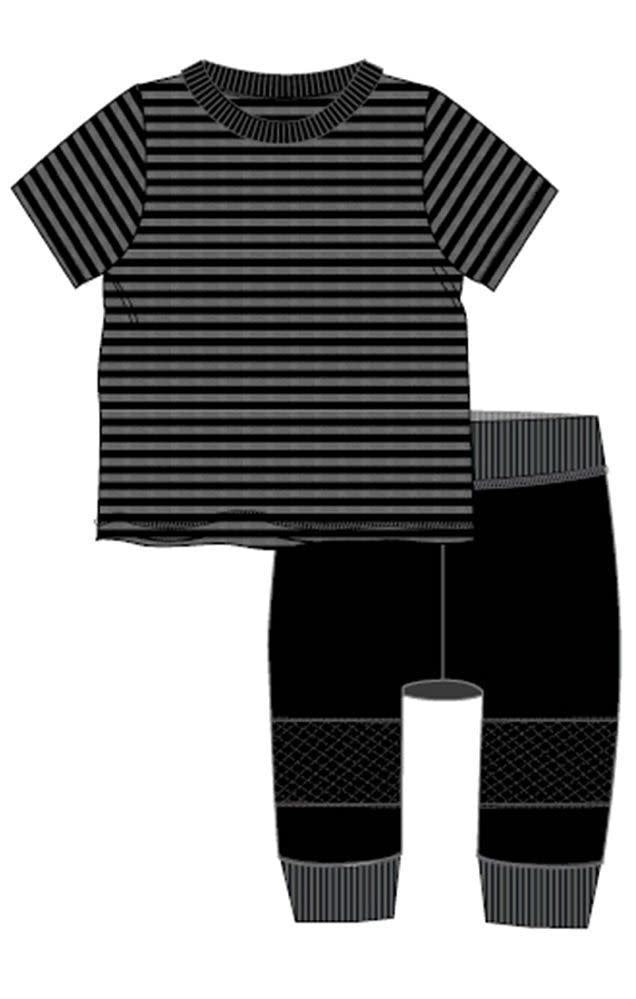 Stripe to Knit Boys Set