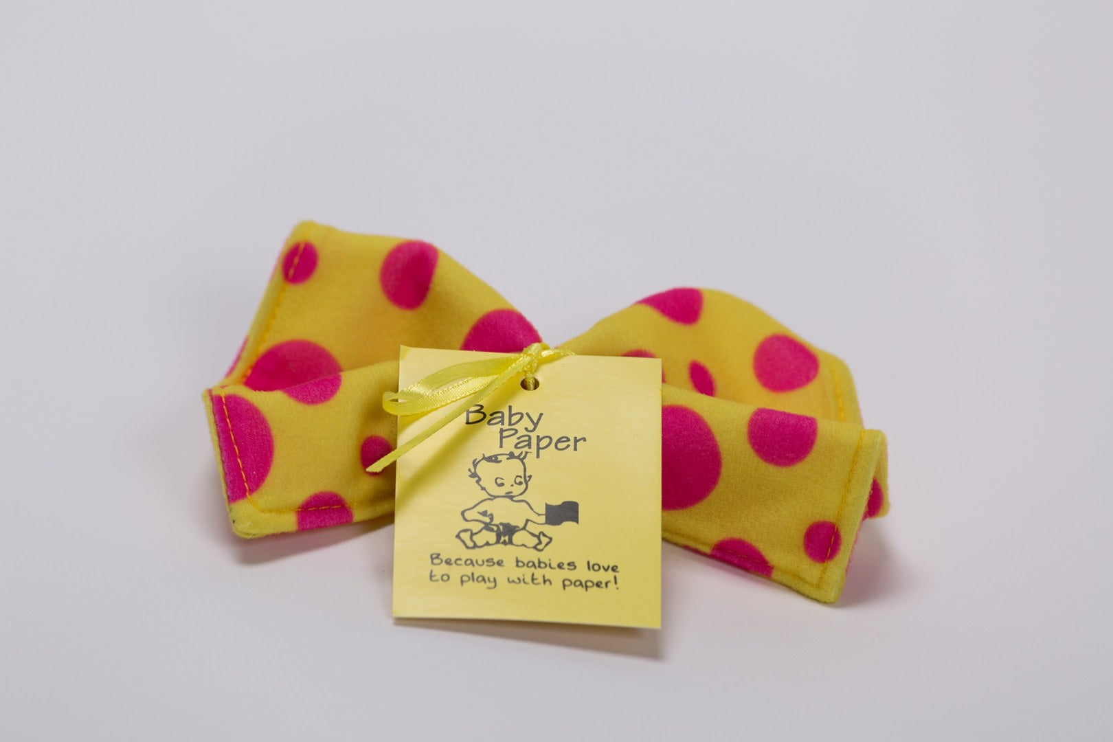 Baby Paper-Yellow Dots
