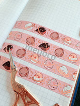 Load image into Gallery viewer, Borb Planets Rose Gold Foil Washi Tape