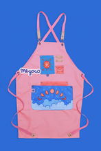 Load image into Gallery viewer, Pink Sky Apron