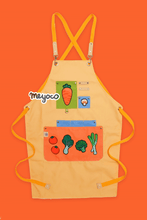 Load image into Gallery viewer, Yellow Veggies Apron