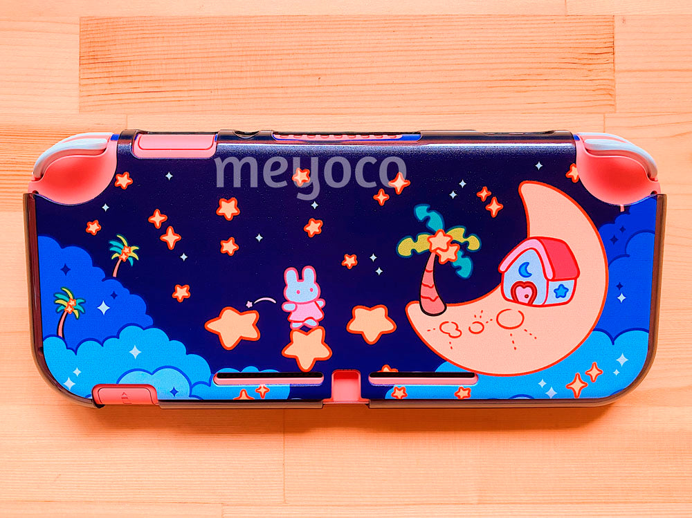 Moon Bunny Switch Lite Case
