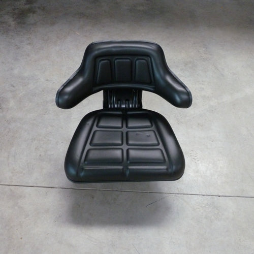 Suspension seat with armrests