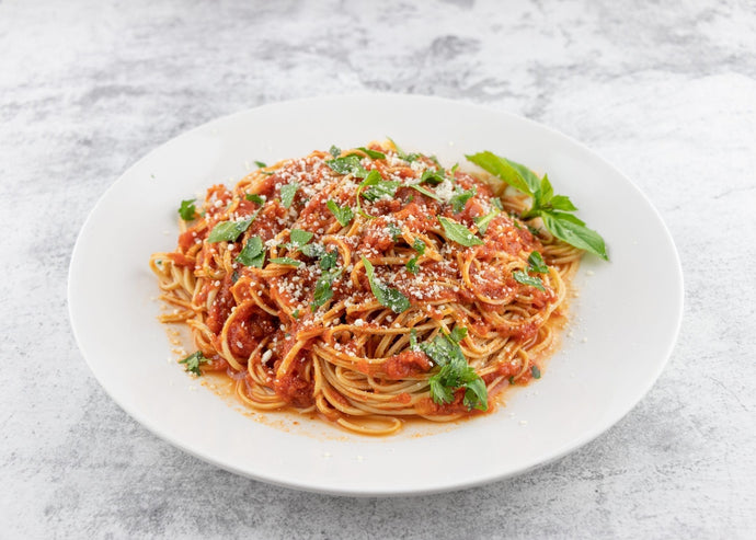 High Protein Marinara Soybean Spaghetti