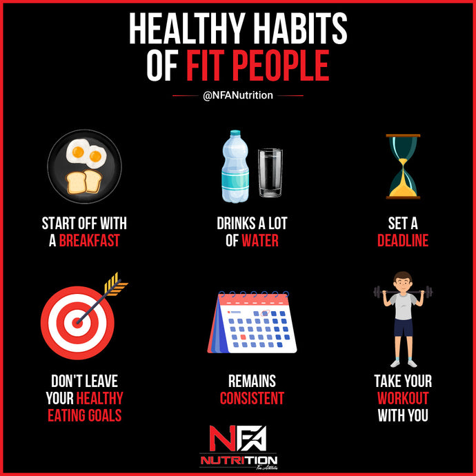 HEALTHY HABITS OF FIT PEOPLE