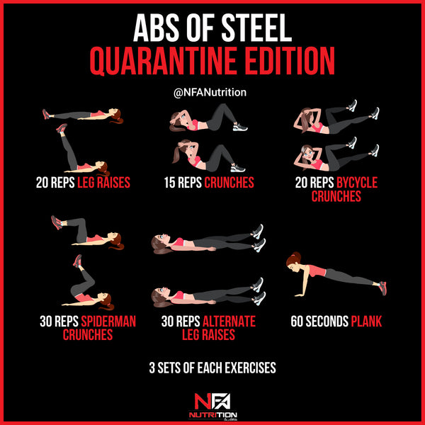 ABS OF STEEL - QUARANTINE EDITION