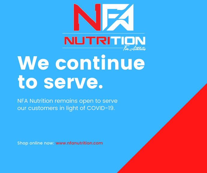 NFA Continues To Serve You!