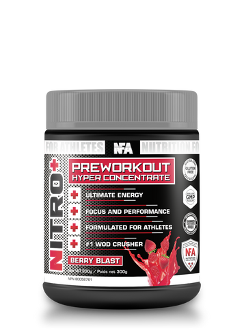 NITRO+ Berry Blast - 300g<br>Extreme Energy Pre-Workout