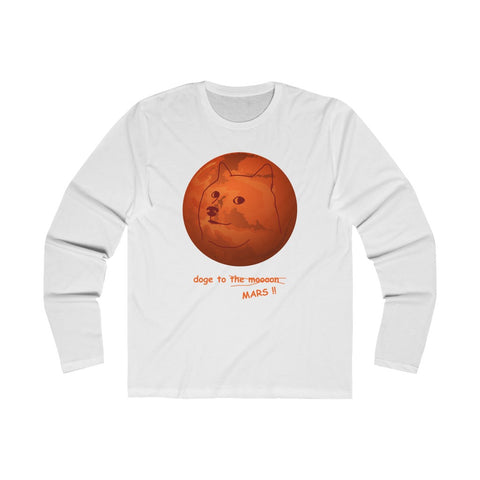 doge to... MARS!! long sleeve