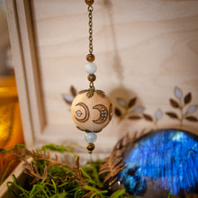 Load image into Gallery viewer, Moon Medicine - Wooden Pendulum