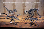 Boneyard Pets Kickstarter v4: Beautiful Art Pieces in Brushed Aluminum
