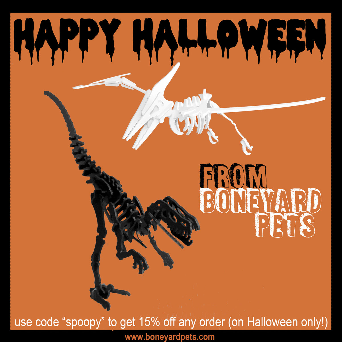 HAPPY HALLOWEEN! (Coupon code!)