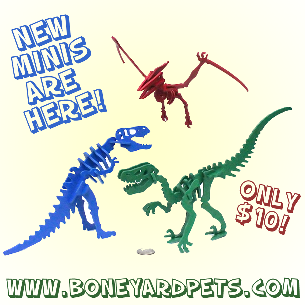 New $10 MINIs Are Finally Here: Pterodactyl, T-Rex, and Velociraptor!