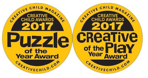 We've Won! Creative Child Awards: 2017 Puzzle of the Year and the Creative Child Awards 2017 Creative Play of the Year
