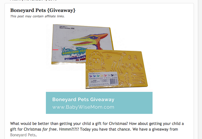 BabyWise Mom Giveaway!