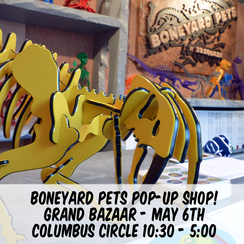 Boneyard Pets live in NYC May 6th!