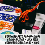 Boneyard Pets LIVE this Sunday July 15th in NYC!