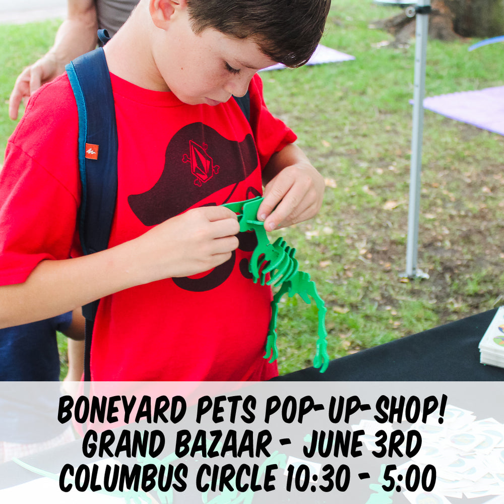 Boneyard Pets Pop-Up June 3rd! [NYC]