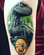 Tuesday Exclusive: 20 of the Coolest Velociraptor Tattoos Vol. 1