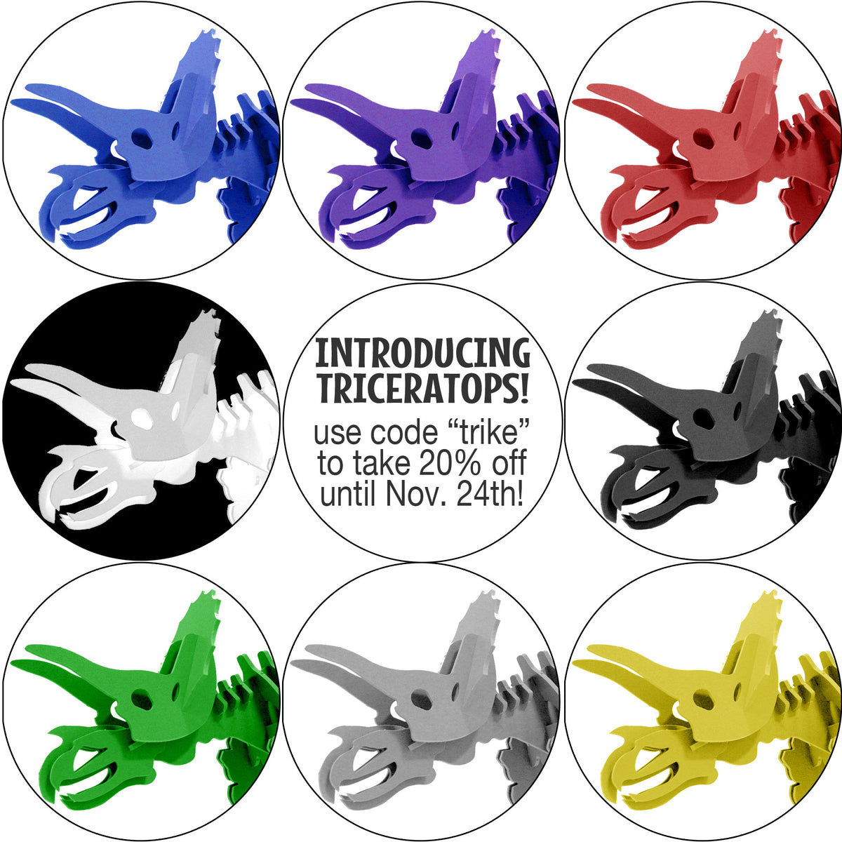 Introducing....TRICERATOPS! Our newest Boneyard Pet!