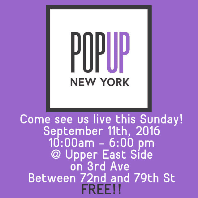Pop-Up Shop Announced (NYC)!
