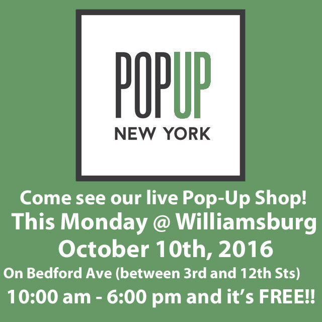Pop-Up Shop Announced! (NYC)