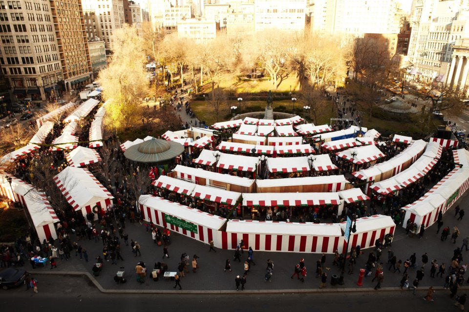 2016 Union Square Holiday Market November 17th - December 24th
