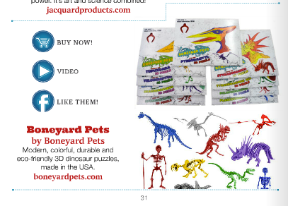 Boneyard Pets in Creative Child Magazine