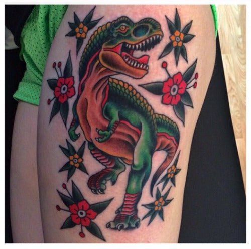 T-Rex Tattoo by Jason Walstrom