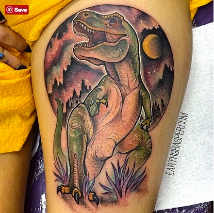 T-Rex Tattoo by Jonathan Penchoff