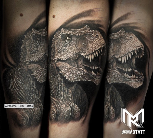 T-Rex Tattoo by Maddalena Ruggiero