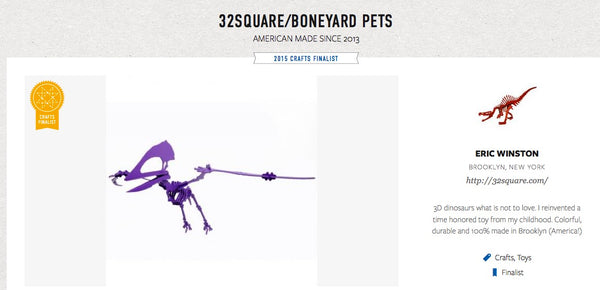 Boneyard Pets on Martha Stewart