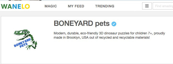 Boneyard Pets on WaNeLo
