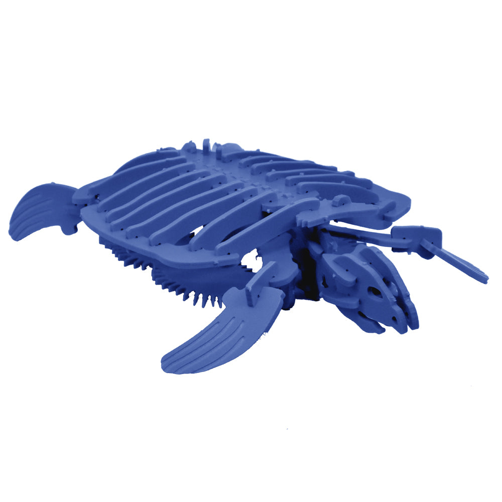 NEW! [STANDARD] 3D Animal Puzzle - Eleanor the Archelon (Sea Turtle) - Komatex PVC - 8 Color Options