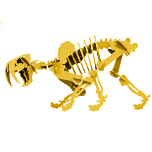 [Standard] 3D Dinosaur Puzzle - Pinga the Smilodon - 9 Color Options