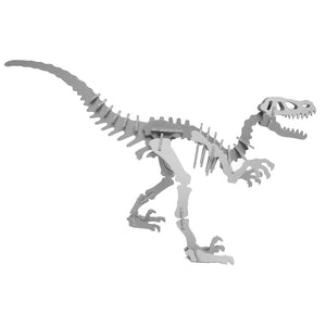 [Standard]  3D Dinosaur Puzzle - Moe the Velociraptor - 9 Color Options